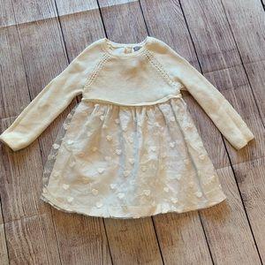 Tahari Baby Girl Toddler Sweater Dress 18m